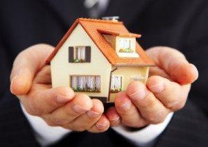 bild på hus med garanti